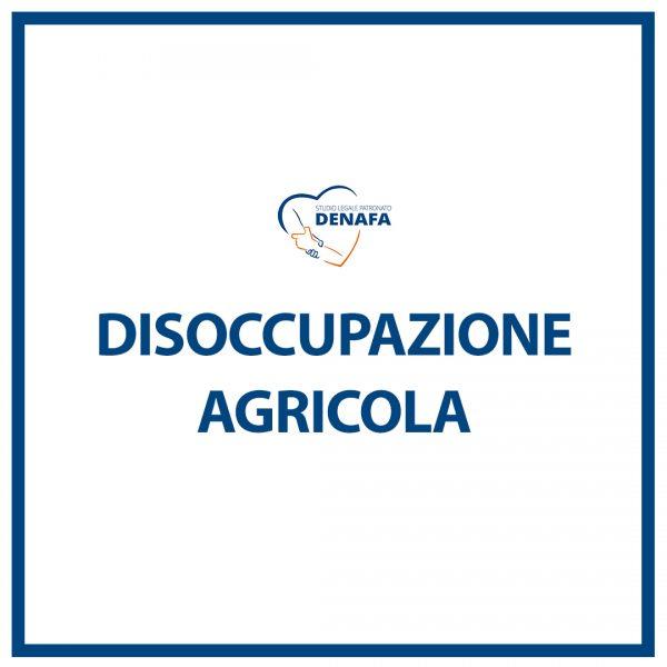 disoccupazione agricola online denafa caf patronato studio legale