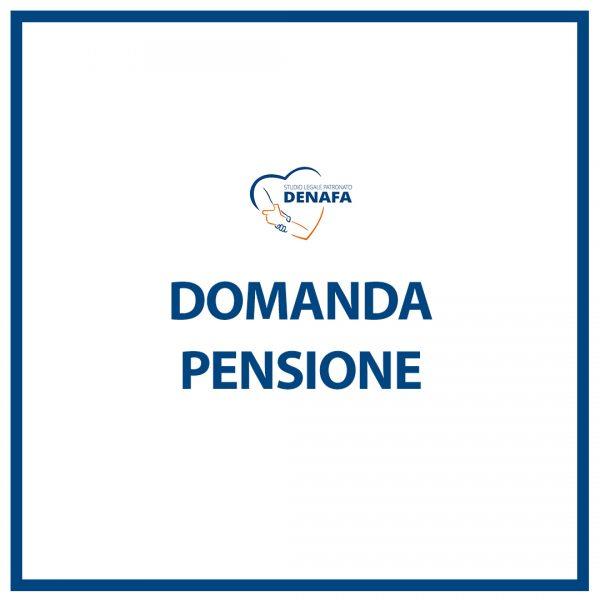 domanda pensione online denafa caf patronato studio legale