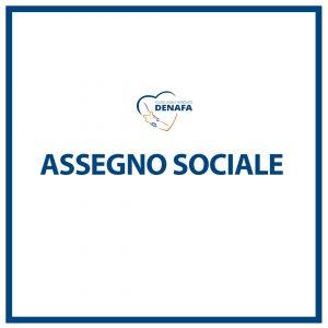 assegno sociale online denafa caf patronato studio legale