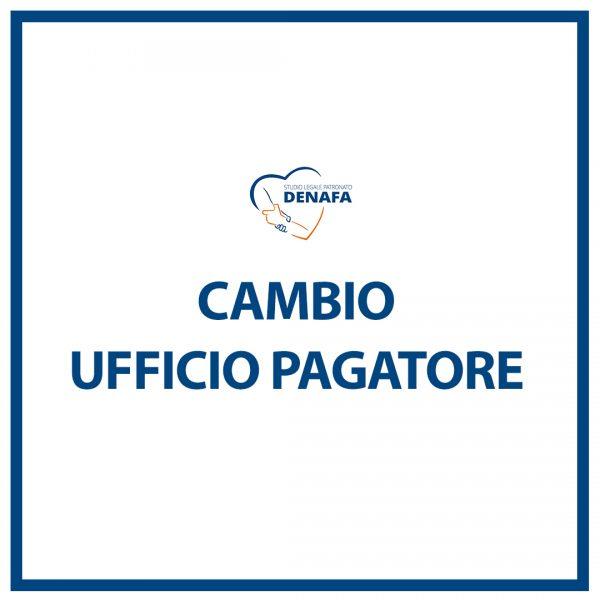 modifica coordinate bancarie online denafa caf patronato studio legale