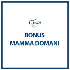bonus mamma domani online denafa caf patronato studio legale
